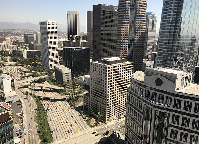 downtown los angeles buildings work lawyer